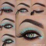 آموزش آرایش چشم (1)