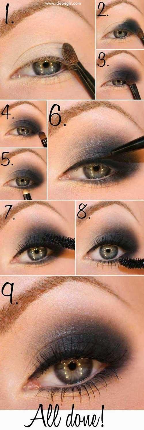 آموزش آرایش چشم (3)