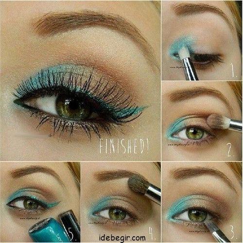 آموزش آرایش چشم (4)