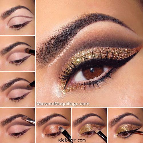 آموزش آرایش چشم (7)