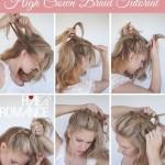 آموزش تصویری درست کردن 5 مدل مو
