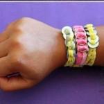 آموزش تصویری درست کردن یک گردنبند و دستبند زیبا و ساده