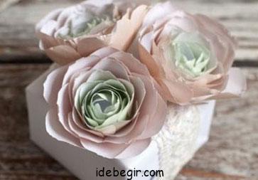 آموزش گل کاغذی (2)