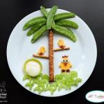 تزئین خوراکی برای بچه ها (1)