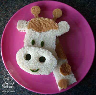 تزئین خوراکی برای بچه ها (3)