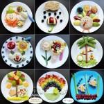 تزئین خوراکی برای بچه ها (4)