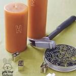 4 ایده جالب برای شمع ها