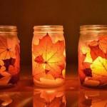 2 ایده برای تبدیل شیشه ی مربا به جا شمعی