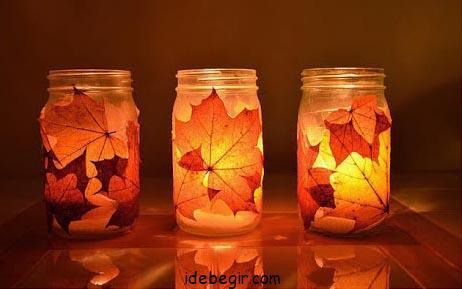 تزئین شیشه- جا شمعی (1)