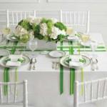 10 ایده برای تزئین میز برای جشن ها