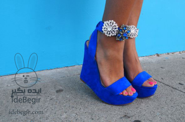 تزئین کفش )