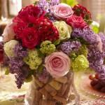 تزئین گلدان (8)