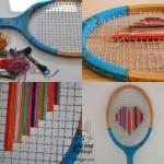 7 ایده با راکت تنیس