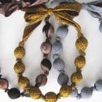 ساخت گردنبند زیبا با کراوات
