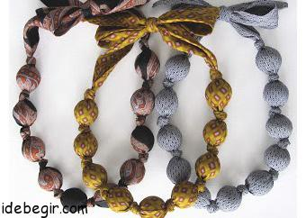 ساخت گردنبند زیبا با کراوات (2)