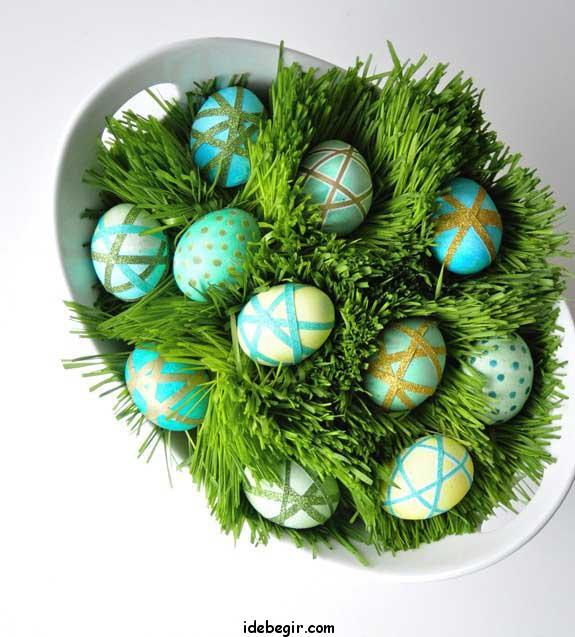 سبزه عید- تخم مرغ رنگی (3)