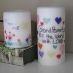 آموزش تصویری ایجاد طرح روی شمع
