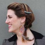 5 ایده برای تزئین شونه مو