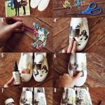 طراحی روی کفش 2 (2)