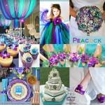 11 ایده برای عروسی بنفش