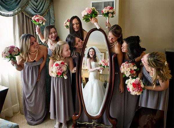عکاسی عروسی با ساقدوش ها (14)