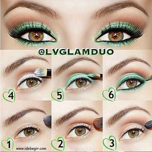 مدل آرایش چشم (7)