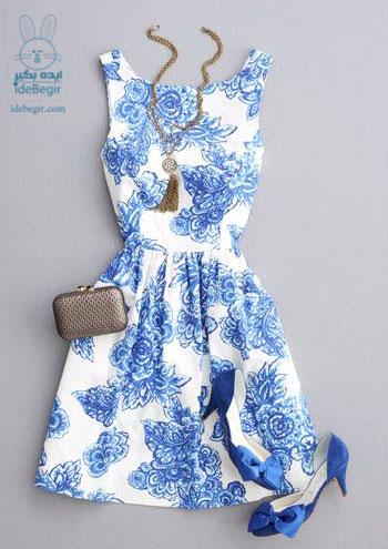 مدل لباس آبی (4)