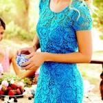 مدل لباس آبی (7)