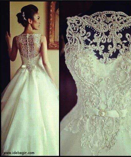 مدل لباس عروس (7)
