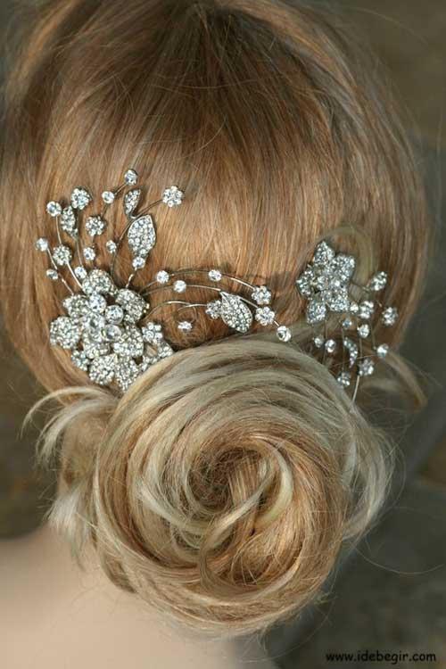مدل موی عروس (3)