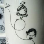 نقاشی روی ظرف (1)