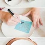 نقاشی روی ظرف (7)
