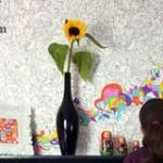 هنرنمایی روی دیوار