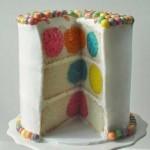 چجوری کیک رنگی  درست کنیم