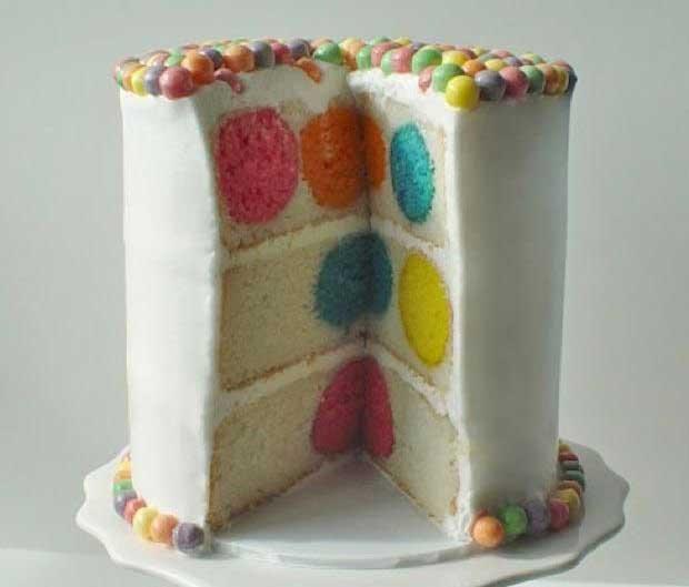 کیک رنگی (1)