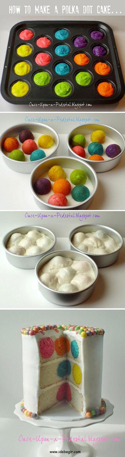 کیک رنگی (2)