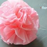 آموزش تصویری درست کردن گل کاغذی