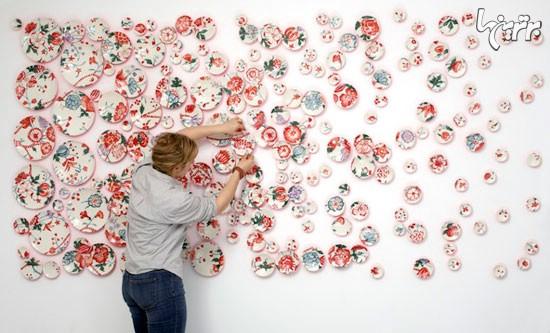 هنر موزاییک- تزئین دیوار