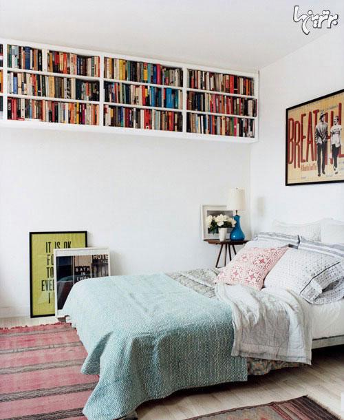 نقش کتاب در تزئین خانه!