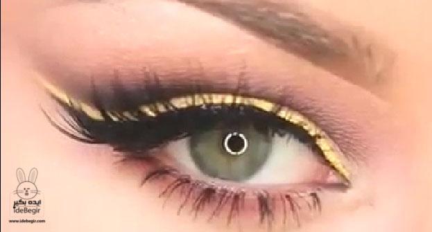 آموزش آرایش متفاوت چشم