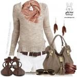 ست کردن لباس های زمستانی