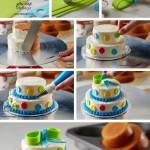 شیرینی پزی - تزئین کیک