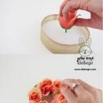 درست کردن سبد گل