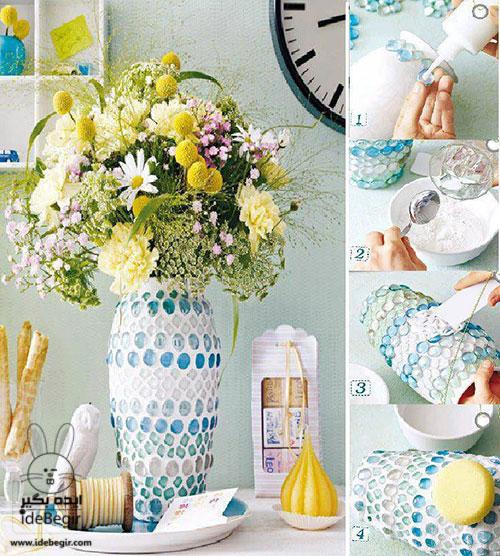 ایده های خلاقانه برای گلدان