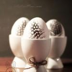 تزئین تخم مرغ برای سفره هفت سین_ تخم مرغ رنگی