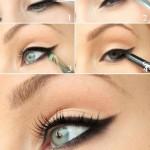 آموزش تصویری 4 مدل آرایش چشم