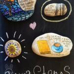 12 ایده خلاقانه با سنگ ها