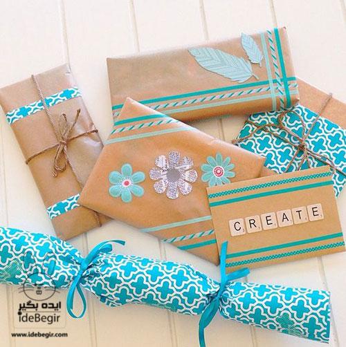 تزئین هدیه-کادوپیچی-بسته بندی هدایا