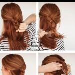 آموزش تصویری درست کردن 3 مدل مو