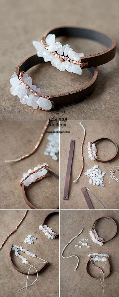 آموزش تصویری درست کردن دستبند